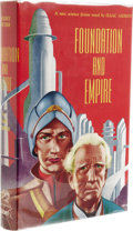 Books:First Editions, Isaac Asimov: Foundation and Empire. (New York: Gnome Press,1952), first edition, first state, 247 pages, jacket design...