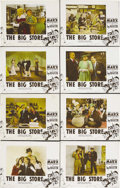 "Movie Posters:Comedy, The Big Store (MGM, 1941). Color Glos Lobby Card Set of 8 (11"" X14""). This was the last of the Marx Brothers' MGM films and...(Total: 8 Items)"