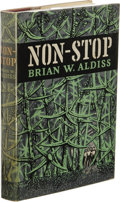 Books:First Editions, Brian W. Aldiss: Non-Stop. (London: Faber and Faber, 1958),first edition, first state with Space, Time and Nathaniel...