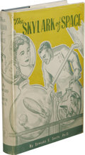 Books:First Editions, Edward E. Smith: The Skylark of Space. (Providence: TheBuffalo Book Company, 1946), first edition, 303 pages, in collab...