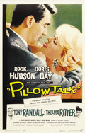 "Movie Posters:Comedy, Pillow Talk (Universal, 1959). One Sheet (27"" X 41""). In this, thefirst teaming of Doris Day and Rock Hudson, the two share..."