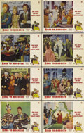 """Movie Posters:Comedy, Road to Morocco (Paramount, 1942). Lobby Card Set of 8 (11"""" X 14"""").Although it wasn't the first film in the """"Road"""" series, ... (Total:8 Item)"""