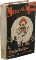 Books:First Editions, Otis Adelbert Kline: Maza of the Moon. (Chicago: McClurg& Company, 1930), first edition, 341 pages, orange boards with...