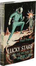 Books:First Editions, Paul French [Isaac Asimov]: Lucky Starr and the Big Sun ofMercury. (New York: Doubleday & Company, Inc., 1956), firste...