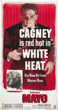 "Movie Posters:Film Noir, White Heat (Warner Brothers, 1949). Three Sheet (41"" X 81""). JamesCagney took his tough-guy gangster persona to a new heigh..."