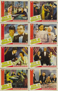"""Movie Posters:Thriller, King of Chinatown (Paramount, 1939). Lobby Card Set of 8 (11"""" X 14""""). This Paramount vehicle for Anna May Wong co-starred Ak... (Total: 8 Item)"""