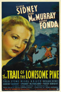 "Movie Posters:Drama, The Trail of the Lonesome Pine (Paramount, 1936). One Sheet (27"" X41""). The first feature-length outdoor film to be shot in..."