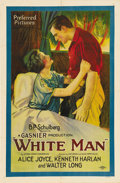 """Movie Posters:Drama, White Man (Preferred Pictures, 1924). One Sheet (27"""" X 41"""") StyleB. Set in Africa, this adventure film marks the screen deb..."""