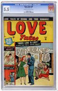Golden Age (1938-1955):Romance, Love Tales #45 (Atlas, 1951) CGC FN- 5.5 Cream to off-white pages....