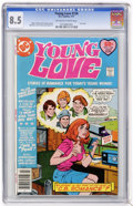 Bronze Age (1970-1979):Romance, Young Love #126 (DC, 1977) CGC VF+ 8.5 Off-white to white pages....