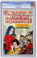 Bronze Age (1970-1979):Romance, Young Romance #196 (DC, 1973) CGC VF- 7.5 Cream to off-whitepages....