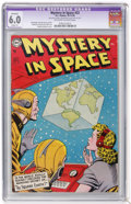 Golden Age (1938-1955):Science Fiction, Mystery in Space #22 (DC, 1954) CGC Apparent FN 6.0 Slight (P)Off-white to white pages....