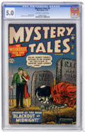 Golden Age (1938-1955):Horror, Mystery Tales #5 (Atlas, 1952) CGC VG/FN 5.0 Off-white to whitepages....