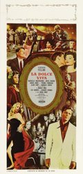 """Movie Posters:Foreign, La Dolce Vita (Cineriz, 1961). Italian Locandina (13"""" X 28""""). Federico Fellini's masterpiece tells the story of a young play..."""