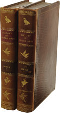 Books:Non-fiction, Thomas Bewick and Ralph Beilby: History of British Birds.(Newcastle: Sol. Hodgson and Edward Walker, 1797-1804), two vo...(Total: 2 )