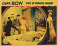 """Movie Posters:Comedy, Her Wedding Night (Paramount, 1930). Lobby Cards (2) (11"""" X 14"""").By 1930, Clara Bow had become one of Hollywood's major sta...(Total: 2 Item)"""