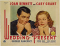 """Movie Posters:Comedy, Wedding Present (Paramount, 1936). Lobby Cards (5) (11"""" X 14"""").This screwball comedy found Cary Grant in his usual fine for...(Total: 5 Items)"""