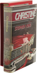 Books:Signed Editions, Stephen King: Christine Signed Limited Edition. (WestKingston, Rhode Island: Donald M. Grant, 1983), first edition,...