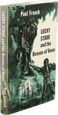 Books:First Editions, Paul French [Isaac Asimov]: Lucky Starr and the Oceans ofVenus. (New York: Doubleday & Company, Inc., 1954), firstedit...