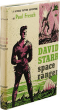 Books:First Editions, Paul French [Isaac Asimov]: David Starr Space Ranger. (NewYork: Doubleday & Company, Inc., 1952), first edition, 186pa...