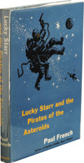 Books:First Editions, Paul French [Isaac Asimov]: Lucky Starr and the Pirates of theAsteroids. (New York: Doubleday & Company, Inc., 1953),f...