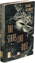 Books:Non-fiction, Isaac Asimov: The Stars Like Dust. (New York: Doubleday & Company, Inc., 1951), first edition, 218 pages, jacket design ...