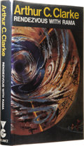 Books:Signed Editions, Arthur C. Clarke: Signed First Edition of Rendezvous With Rama. (London: Gollancz, 1973), first edition, 256 pages, sign...