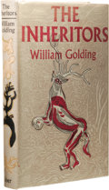 Books:First Editions, William Golding: The Inheritors. (London: Faber and FaberLimited, 1955), first edition, 233 pages, jacket illustration ...