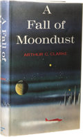 Books:Signed Editions, Arthur C. Clarke: Signed A Fall of Moondust. (New York:Harcourt, Brace & World, Inc., 1961), first edition, 248 pages,...