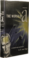 Books:Signed Editions, A. E. van Vogt: Signed The World of A. (New York: Simon and Schuster, 1948), first edition, 246 pages, signed by the aut...