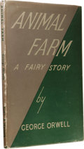 Books:First Editions, George Orwell: Animal Farm A Fairy Story First UK Edition.(London: Secker & Warburg, 1945), first edition, 92 pages...