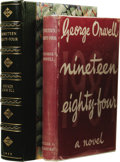 Books:First Editions, George Orwell: Nineteen Eighty-Four [1984]. (London:Secker & Warburg, 1949), first edition, 312 pages, green cloth...