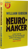 Books:Signed Editions, William Gibson: Signed First Edition of Neuromancer.(London: Victor Gollancz Limited, 1984), first edition, 251 pages,...