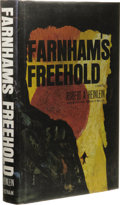 Books:First Editions, Robert A. Heinlein: Farnham's Freehold. (New York: G. P.Putnam's Sons, 1964), first edition, 315 pages, jacket design b...
