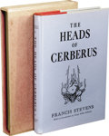 Books:First Editions, Francis Stevens [Gertrude Bennett]: Special Limited Edition ofThe Heads of Cerberus. (Reading: Polaris Press, 1952), nu...
