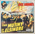"""Movie Posters:Action, Mutiny on the Elsinore (Regal, 1937). Folded, Very Fine. Six Sheet (80"""" X 81"""") & Uncut Pressbook (12"""" X 18"""") (Multiple Pages... (Total: 2 Items)"""
