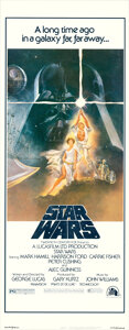 Movie Posters:Science Fiction, Star Wars (20th Century Fox, 1977). Rolled, Near Mint-.
