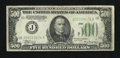 Fr. 2201-J $500 1934 Federal Reserve Note. Very Good