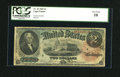 Large Size:Legal Tender Notes, Fr. 42 $2 1869 Legal Tender PCGS Very Good 10....