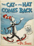 Books:Children's Books, Dr. Seuss [Theodor Geisel]. The Cat in the Hat Comes Back.[New York]: Random House, [1958]....