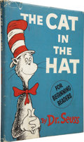 Books:First Editions, Dr. Seuss [Theodor Geisel]. The Cat in the Hat. [New York]:Random House, [1957]....