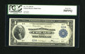 Fr. 727 $1 1918 Federal Reserve Bank Note PCGS About New 50PPQ