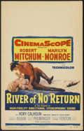 "Movie Posters:Adventure, River of No Return (20th Century Fox, 1954). Window Card (14"" X22""). Adventure...."