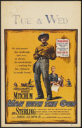 "Movie Posters:Western, Man with the Gun (United Artists, 1955). Window Card (14"" X 22"").Western...."