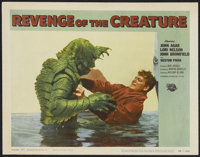 "Revenge of the Creature (Universal International, 1955). Lobby Card (11"" X 14""). Science Fiction"