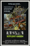 """Movie Posters:Science Fiction, Soylent Green (MGM, 1973). One Sheet (27"""" X 41""""). Science Fiction...."""