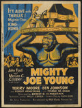"Movie Posters:Adventure, Mighty Joe Young (RKO, R-1953). Poster (30"" X 40""). Adventure...."