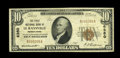 National Bank Notes:Pennsylvania, Le Raysville, PA - $10 1929 Ty. 1 The First NB Ch. # 6350. ...