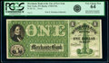 Obsoletes By State:New York, New York, NY- Merchants Bank in the City of New York $1 18__ as G130a Proof PCGS Very Choice New 64.. ...
