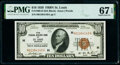 Small Size:Federal Reserve Bank Notes, Fr. 1860-H $10 1929 Federal Reserve Bank Note. PMG Superb Gem Unc 67 EPQ.. ...